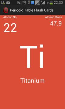 Periodic table flash cards apk download free education app for periodic table flash cards poster periodic table flash cards apk screenshot urtaz Choice Image