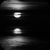 Dark Moonlight.Black wallpaper icon