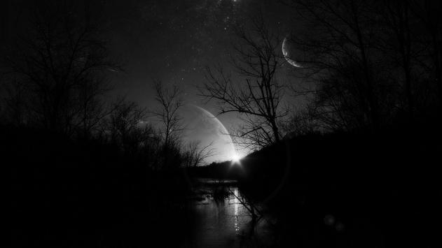 Dark Moonlight.Black wallpaper screenshot 5