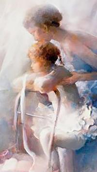 Painting.Lady.Live wallpaper screenshot 2