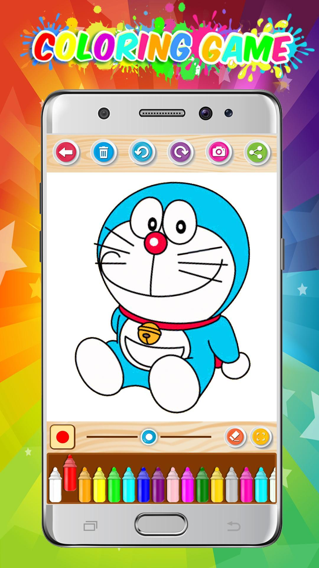 Doraemon And Nobita New Coloring Game 2018 For Android APK