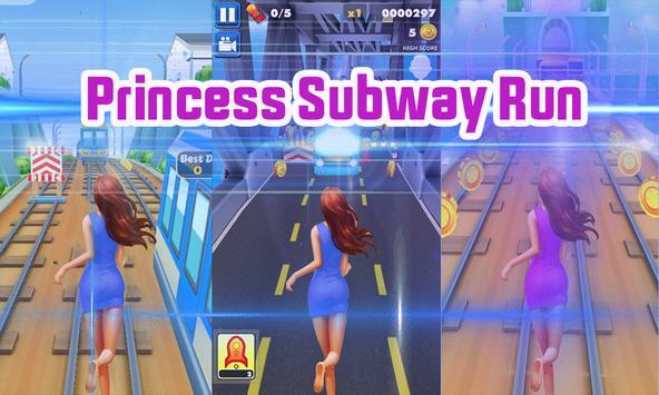 Princess Subway Run - Girl Survival Surf apk screenshot
