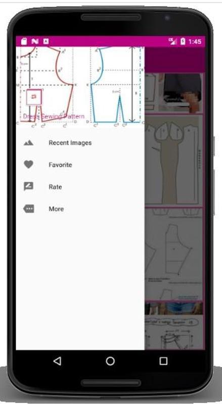 Patrón de costura del vestido for Android - APK Download