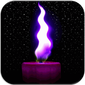 Candle Live Wallpaper HD Free icon