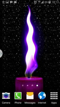 Candle Live Wallpaper HD Free apk screenshot