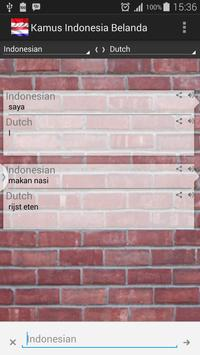 Dutch Indonesian Dictionary poster
