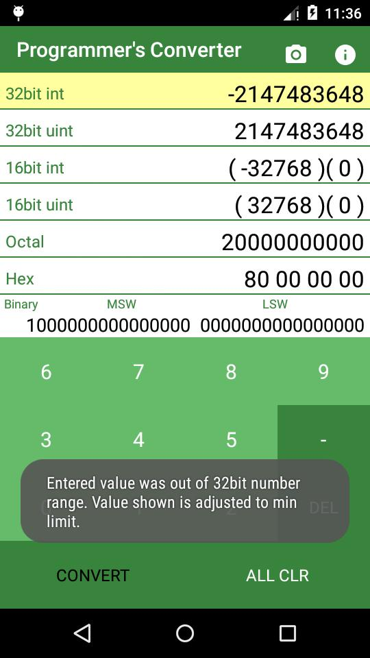 Hex to Decimal Converter for Android - APK Download
