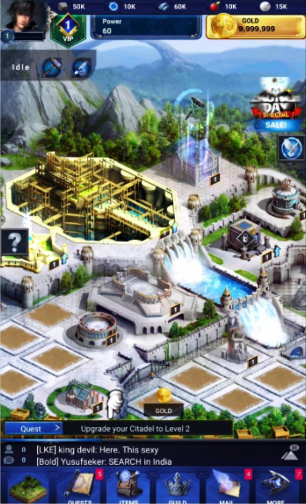 Cheat Final Fantasy XV A New Empire for Android - APK Download