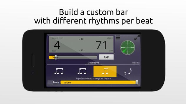 Creative Rhythm Metronome plakat
