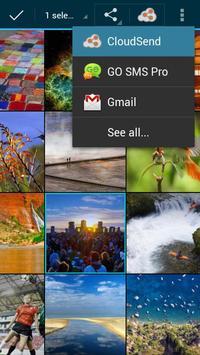 CloudSend screenshot 3