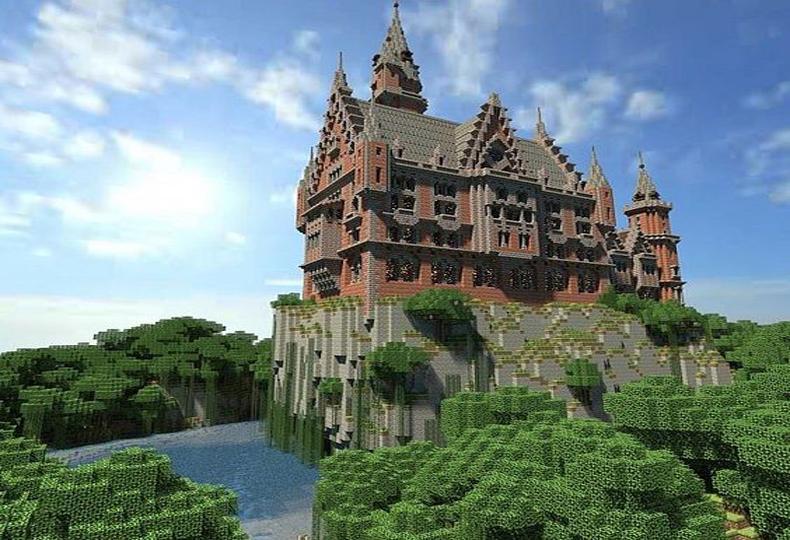 best minecraft castle map download
