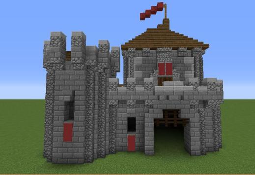 Building for minecraft castle maps apk download free for Build a castle home