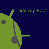 Hide my Root icon