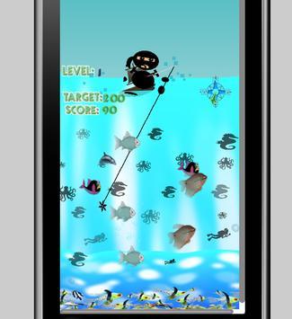 Ninja Fishing game screenshot 3