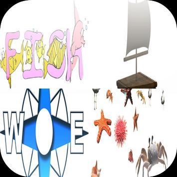 Ninja Fishing game poster