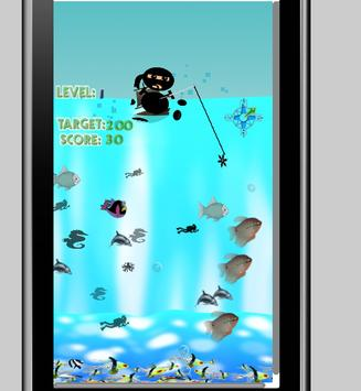 Ninja Fishing game screenshot 2
