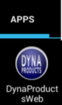 DYNA Products Web screenshot 1