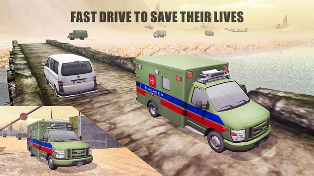 US Army Ambulance Rescue Game. screenshot 6