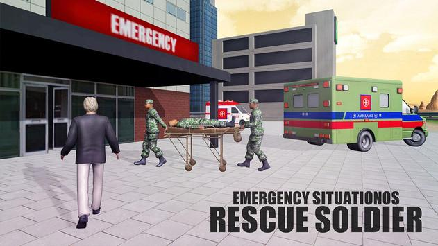 US Army Ambulance Rescue Game. screenshot 3
