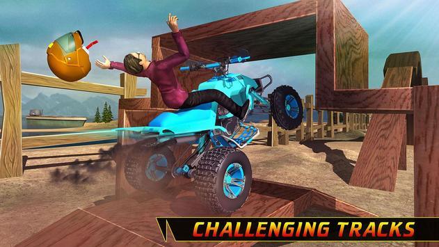 SuperHero Mega Ramp Stunts Bike Racing apk screenshot