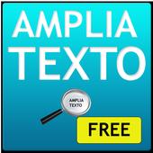 Amplia Texto FREE icon