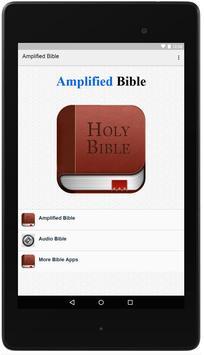 Amplified Bible Offline poster