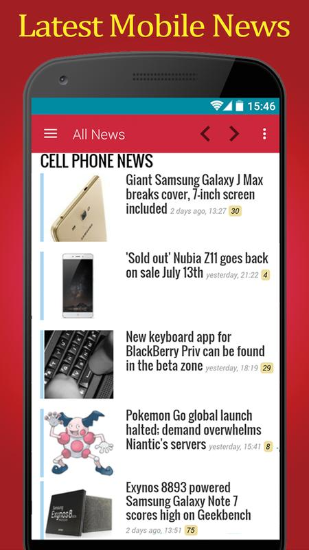 787848c86 Mobile News Phone Arena for Android - APK Download