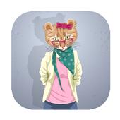 funny talking dancing tom cat icon