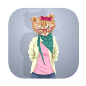 funny talking dancing tom cat icon