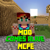 Mod Comes Alive for MCPE icon