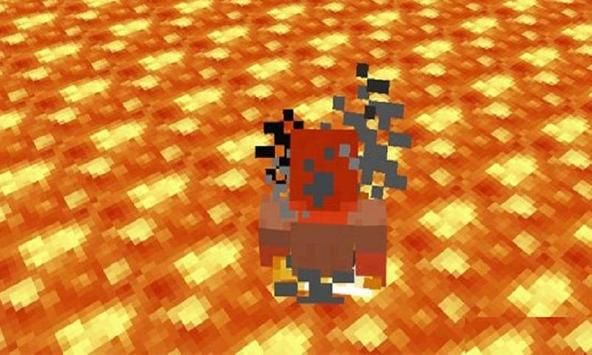 Mod Floor is lava for MCPE apk screenshot