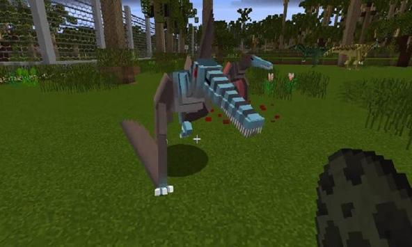 Mod Jurassic Craft for MCPE apk screenshot