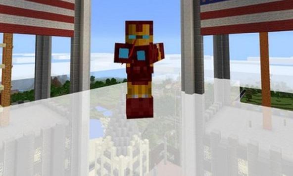 Mod Iron Hero for MCPE apk screenshot