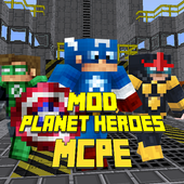 Mod Planet Heroes for MCPE icon