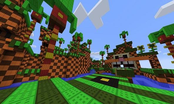 World Sonic Parkour MCPE apk screenshot