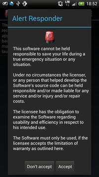 Alert Responder apk screenshot