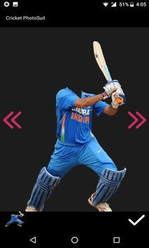 Cricket Photo Suit 2017 screenshot 2