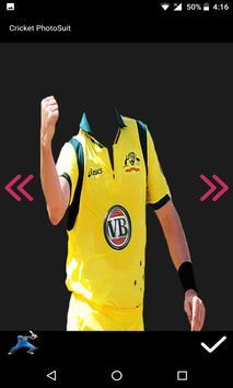 Cricket Photo Suit 2017 screenshot 4