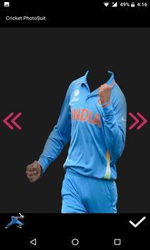 Cricket Photo Suit 2017 screenshot 5