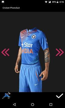 Cricket Photo Suit 2017 screenshot 6