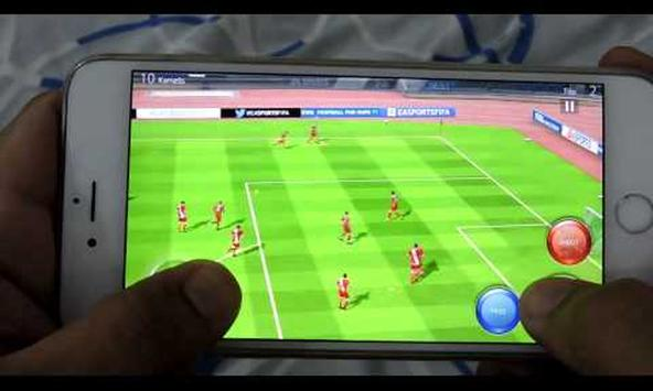Review:Real FiFa 16 Football apk screenshot