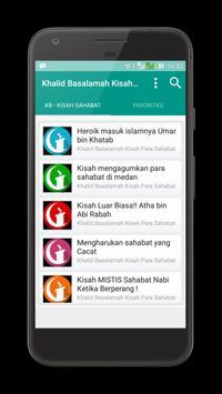 Khalid Basalamah Kisah Sahabat apk screenshot