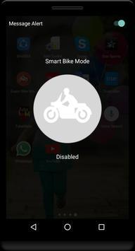 Super bike mode Auto Responder screenshot 1