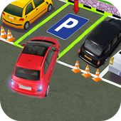 Real Car City Parking icon
