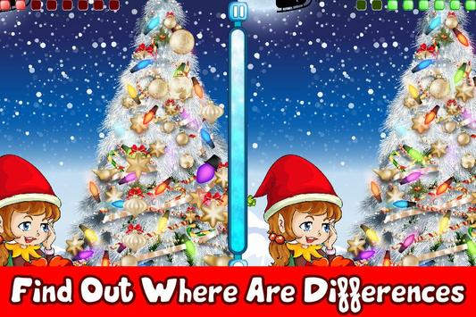 Find the Difference Christmas poster