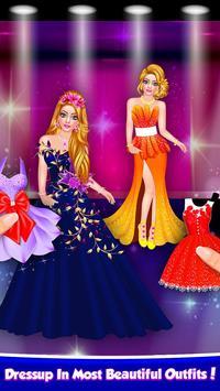 Flower Doll Fashion Show Salon Dress Up Game screenshot 8
