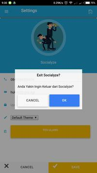Socialyze apk screenshot