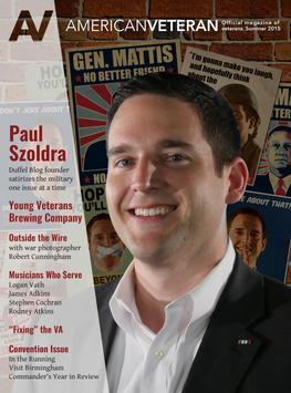 American Veteran Magazine poster