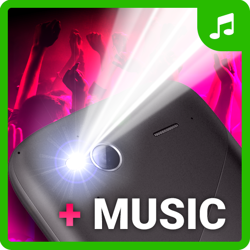 Music Strobe Light app - Led torch flashlight free