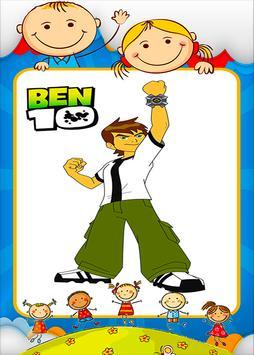 Coloring Ben 10 Game Screenshot 17